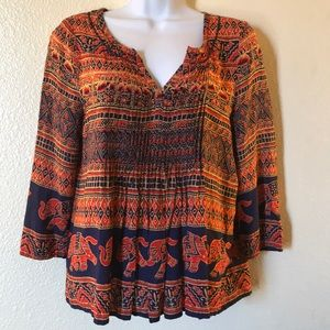 Vanessa Virginia womens top size 4